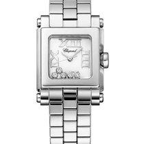 Chopard 278516-3002 Happy Sport Square - Steel on Bracelet...