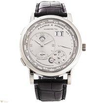 A. Lange & Söhne Lange 1 Time Zone Platinum Men`s Watch