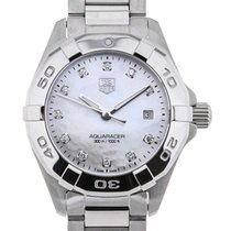 TAG Heuer Aquaracer Lady Quartz 27 Mother of Pearl Diamond Dial