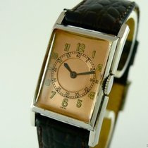 Jaeger-LeCoultre Vintage Gentlemans Watch Stainless Steel Bj 1950