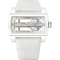Corum Ti-Bridge Lady White Ceramic