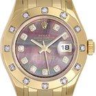 Rolex Masterpiece/Pearlmaster 18k Ladies Watch 80318