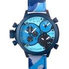 Welder Triple Time Zone Chronograph Men's Watch K29-8006