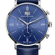 Maurice Lacroix Eliros Chronographe Blue Dial, Blue Strap, Date