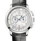 Girard Perregaux 1966 Silver Dial White Gold Watch