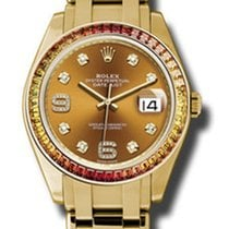 Rolex 18KT Yellow Gold Lady Pearlmaster