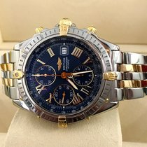 Breitling Crosswind Pilot Gold Steel Blue Roman Dial 43 mm (2000)