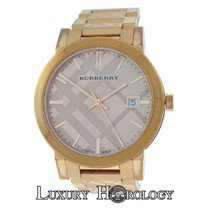 Burberry Ladies BU9039 Rose Gold Ion-Plated Steel Date Quartz...