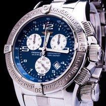 Breitling Emergency Mission Chronograph Date A73321 Herrenuhr...