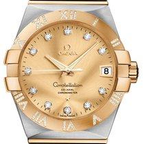 Omega Constellation Co-Axial Automatic 38mm 123.25.38.21.58.002