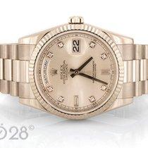 Rolex Day-Date 118239 Weißgold Silver Diamond Dial Full Set  2012