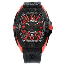Franck Muller Conquistador GPG Black / Red