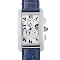 Cartier Tank Americaine Mens Quartz Watch W2603356