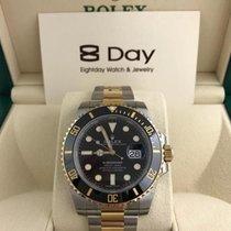 勞力士 (Rolex) 116613LN Black Gold Steel Ceramic Submariner Date