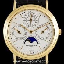Vacheron Constantin 18k Y/G Patrimony Perpetual Calendar 43031/3