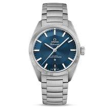 Omega Constellation Steel Blue Dial 130.30.39.21.03.001 Mens...