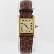 Cartier Tank Vermeil 925 Silber vergoldet