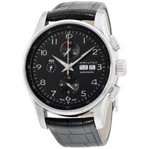 Hamilton Men's Hml-h32716839 Jazzmaster Black Dial Watch