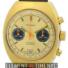 Wakmann Incabloc Vintage 3 Register Chrono Gold Plated Ref.