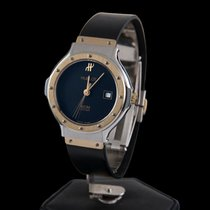 Hublot classic steel and gold lady size