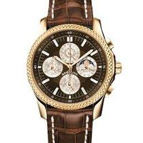 Breitling Bentley Mark VI Brown Dial Chronograph Men's Watch