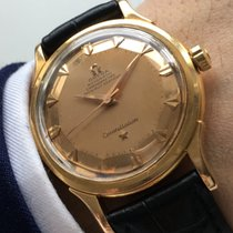 Omega Constellation de lux luxe pink gold 18 ct 18kt solid Pie...