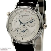 Jaeger-LeCoultre Geographic Ref-169692 950 Platinum Box Papers...