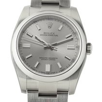 Rolex Oyster Perpetual 36mm Stainless Steel No-Date Steel Dial...