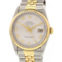 Rolex Men's Rolex Oyster Perpetual Datejust 16223 18k YG...