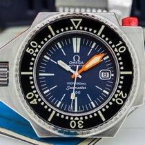 Omega 166.077 Vintage Seamaster PloProf 600 Mk2 Blue Dial SS...