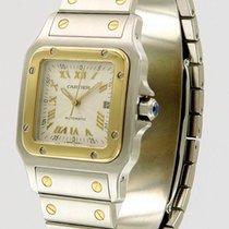 Cartier santos automatico automatic oro gold steel acciaio 31...