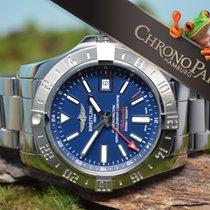 Breitling Avenger II GMT Herren Chronometer, Stahlband, Ref....