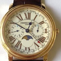 Frederique Constant Business Timer Yellow Gold Plated