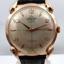 Atlantic vintage 1951 gold 18kt SPECIAL LUGS