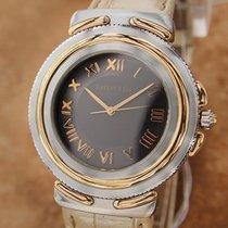 Tiffany and Co Intaglio Swiss Made Quartz Chronograph 35mm...