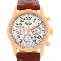 Breitling Navitimer Premier 18k Rose Gold Watch H42035