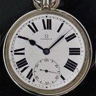 Omega Vintage Manual Winding 57mm Silver Porcelain Dial