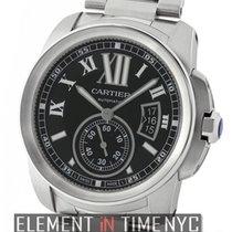 Cartier Calibre Collection Calibre Stainless Steel Black Dial...