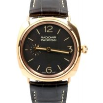 Panerai PAM 439 Radiomir Oro Rosso Brown Tobacco 42mm Red Gold...