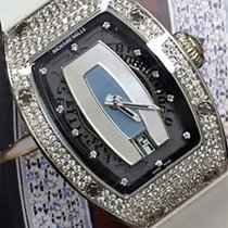 Richard Mille [NEW] RM 007 Ladies White Gold MOP Dial Full Set...