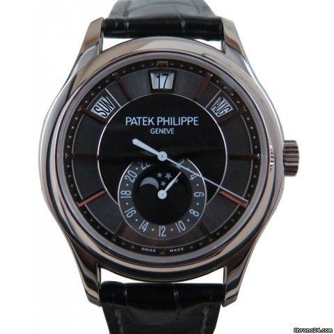 Patek Philippe 5205G 010 plications Day Date Moon Phase for $40 599 for sale from a