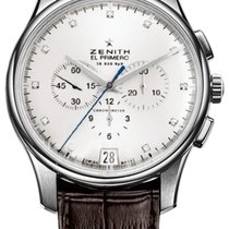 Zenith 16.2110.400 CAPTAIN Chronograph Diamonds Men's Watch