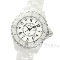 Chanel J12 High-tech White Ceramic 33MM Quartz Ladies Watch (New)