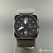Bell & Ross Aviation BR03-94 Chronograph Black Carbon...
