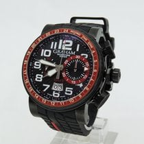 Graham 2BLCB.B10A Silverstone Stowe GMT Red Limited 250Pcs 48mm