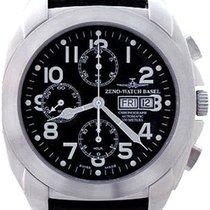Zeno-Watch Basel -Watch Herrenuhr - Square XL Pilot Chrono...