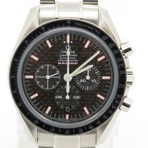 Omega Speedmaster Racing Steel Mens Watch Ref. 3552.59.00 W/...
