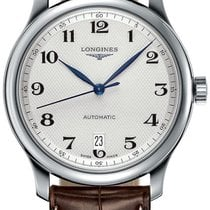 Longines Master Automatic 38.5mm L2.628.4.78.3 Stainless Steel...