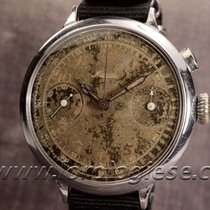 Minerva Vintage 1930`s 46mm Tropical Dial Chronograph Cal. 19.ch