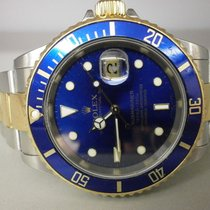"Rolex Submariner 16613 18k/ss Blue 40mm Diver. ""z""..."